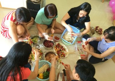 Year End Party BBQ